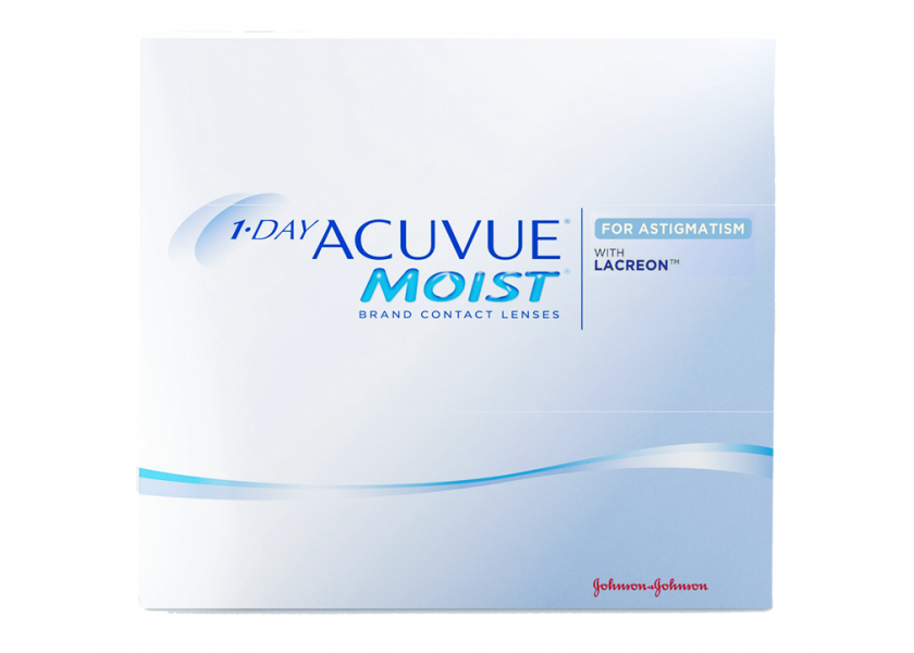 7411fc24bd9df 1-Day Acuvue Moist for Astigmatism (90) lentes de contacto del fabricante  Johnson ...