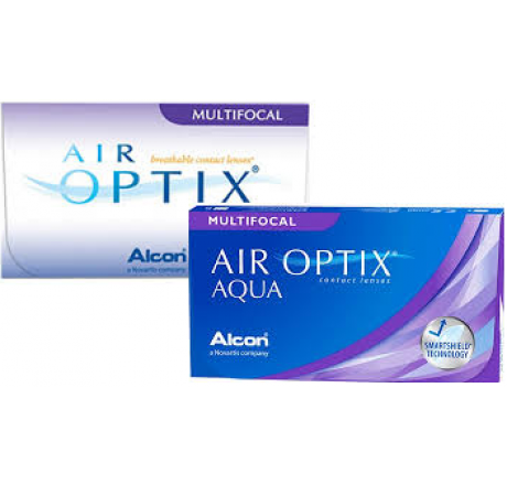 Air Optix Aqua Multifocal (3) lentes de contacto del fabricante Alcon / Cibavision en categoria Optica Iberica