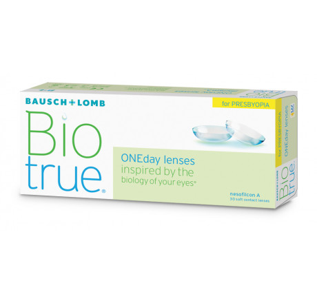 Biotrue Oneday for Presbyopia (30) lentes de contacto del fabricante Bausch & Lomb en categoria Optica Iberica