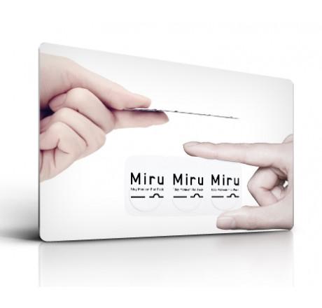Miru 1 Day (30) lentes de contacto del fabricante Menicon en categoria Optica Iberica