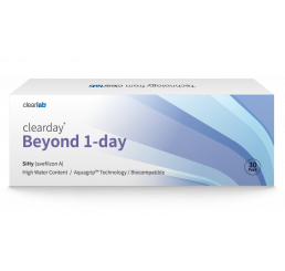 Clearday Beyond 1-Day contact lenses