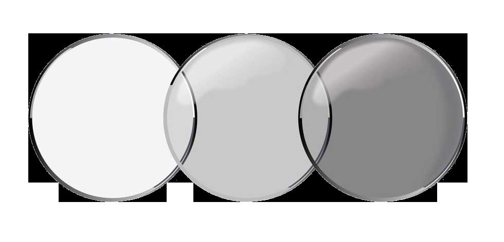 Las primeras lentillas de contacto que quedan oscuras con la luz solar.